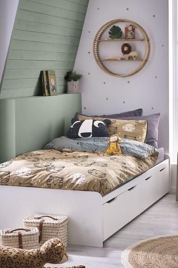 Compton White Storage Divan Bed