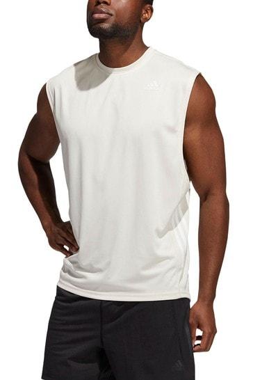 adidas Cream Must Have Yoga T-Shirt