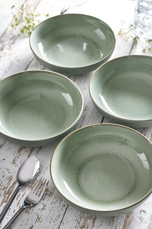 Logan Reactive Set of 4 Pasta Bowls
