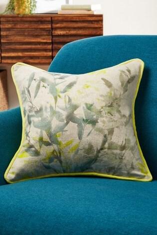 Soft Shadow Leaf Cushion