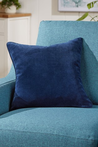 Soft Velour Small Square Cushion