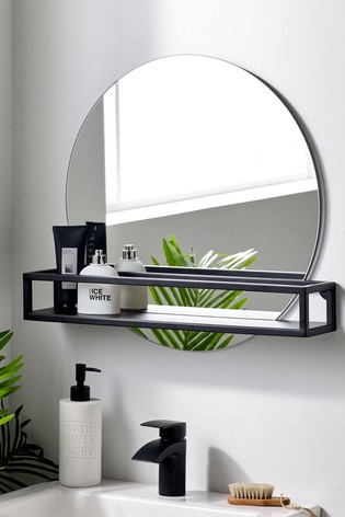 Buy Shelf Wall Mirror From The Next Uk Online Shop