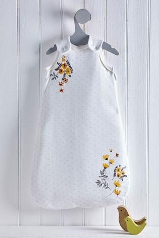 Ochre Floral 2.5 Tog Sleep Bag