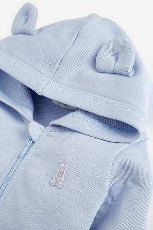 Benetton Zip Through Ears Hoodie