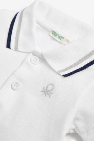 Benetton Poloshirt Bodysuit