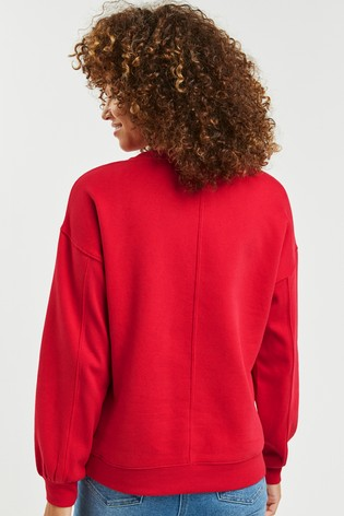 Red Sweatshirt