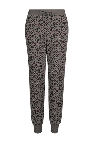 Charcoal Animal Slim Fit Joggers
