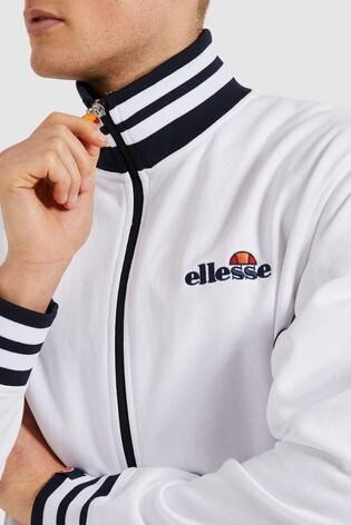 Ellesse™ White Milano Track Top
