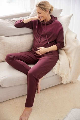 Berry Maternity Luxe Hoody