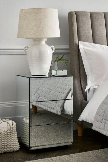 Sloane 3 Drawer Bedside Chest
