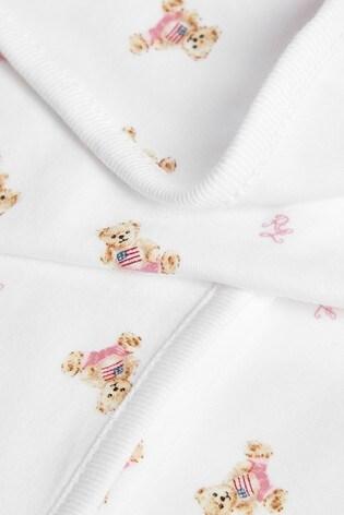 Ralph Lauren Pink Bears Blanket
