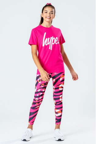 Hype. T-Shirt And Leggings Set
