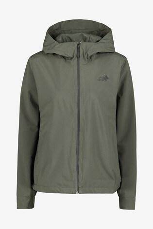 adidas 3 Stripe Rain Ready Jacket