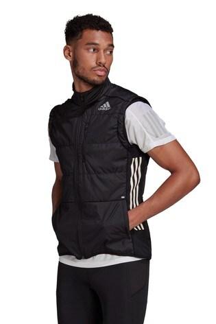 adidas Own The Run 3 Stripe Vest