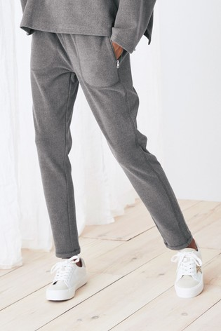 Grey Supersoft Fleece Joggers