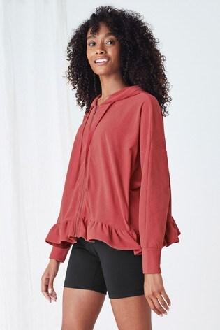 Pink Supersoft Fleece Half Zip Top