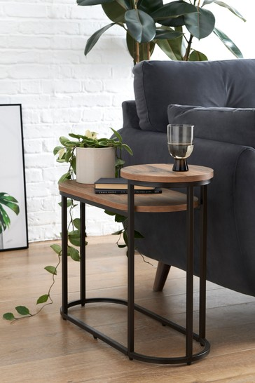 Buy Bronx Tiered Side Table Bedside From The Fitforhealth Online Shop