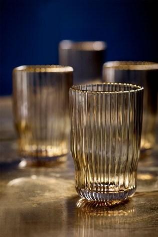 Malvern Set of 4 Tumbler Glasses