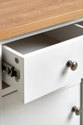 Malvern 1 Drawer Storage Bedside Table