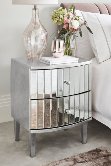 Rochelle 2 Drawer Bedside Table