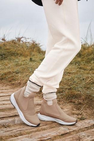 Mink Forever Comfort® Neoprene Chelsea Boots