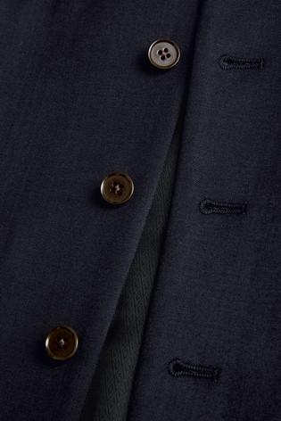 Navy Signature Suit: Waistcoat