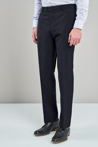 Navy Slim Fit Signature Suit: Trousers