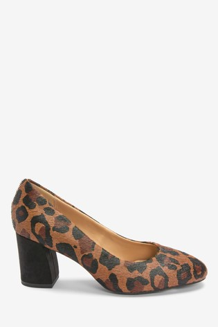 Leopard Forever Comfort® With Motion Flex Block Court Shoes