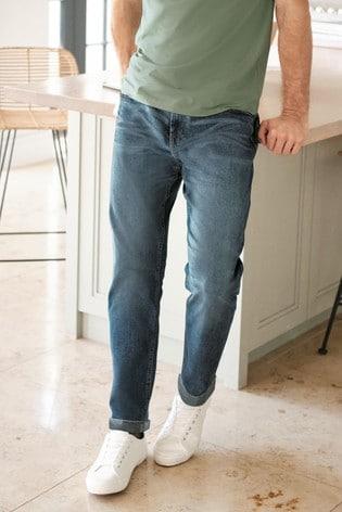 Vintage Wash Slim Fit Motion Flex Stretch Jeans