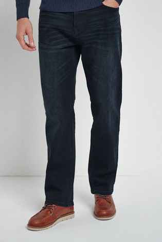 Ink Loose Fit Jeans With Stretch