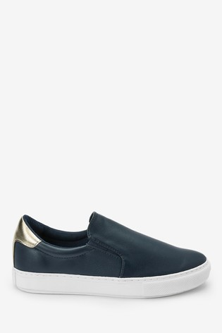 Navy Forever Comfort® Slip-On Trainers