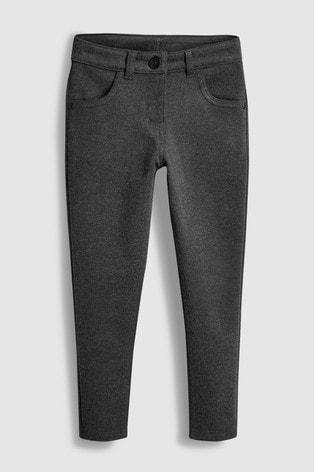 Grey Jersey Skinny Trousers (3-16yrs)