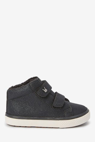 Black High Top Boots (Younger)