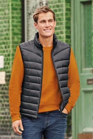 Slate Quilted Gilet with DuPont Sorona® Insulation