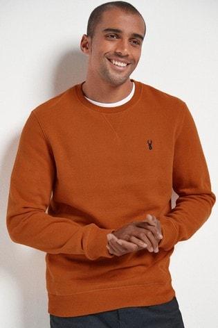 Orange Crew Sweatshirt Jersey