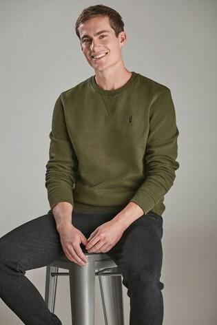 Green Crew Sweatshirt Jersey