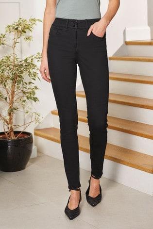 Black Lift, Slim And Shape Skinny Jeans