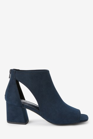 Navy Forever Comfort® Low Cut-Out Shoe Boots