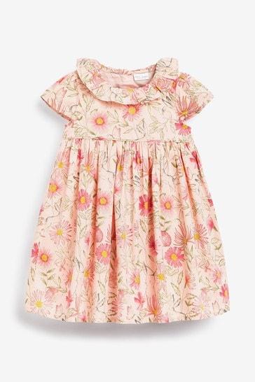 Pink Prom Dress And Cardigan Set (0mths-2yrs)