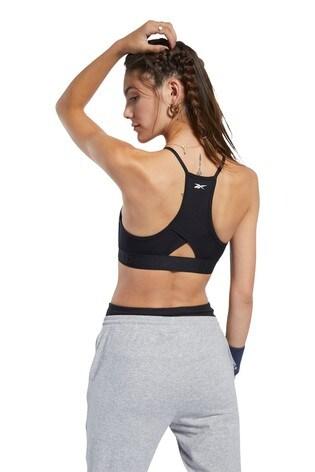 Reebok Workout Ready Strappy Back Light Support Bra