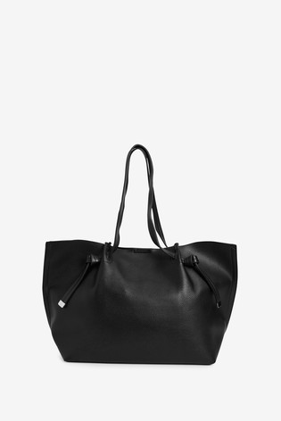Black Knot Detail Shopper Bag