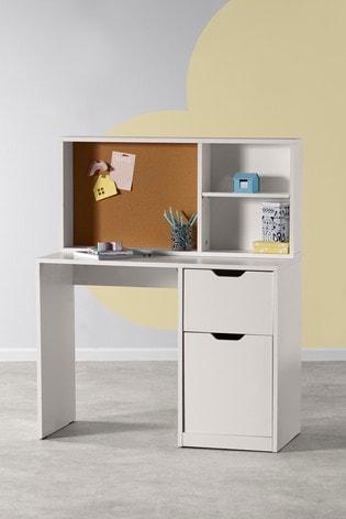Compton Desk and Shelving Set