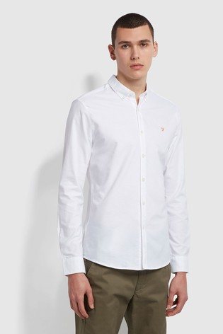 Farah Green Brewer Shirt