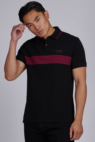 Barbour® International Box Stripe Polo