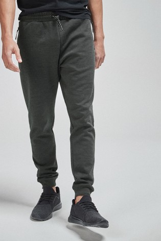 Charcoal Slim Joggers Sports Jersey