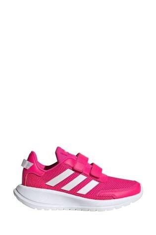 adidas Run Pink Tensaur Run Junior Trainers