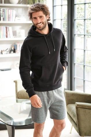 Black Overhead Hoody Loungewear