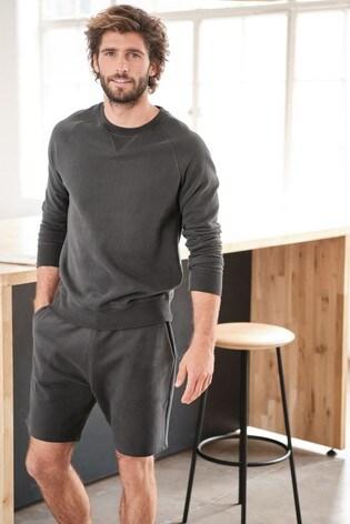 Slate Crew Neck Sweater Loungewear