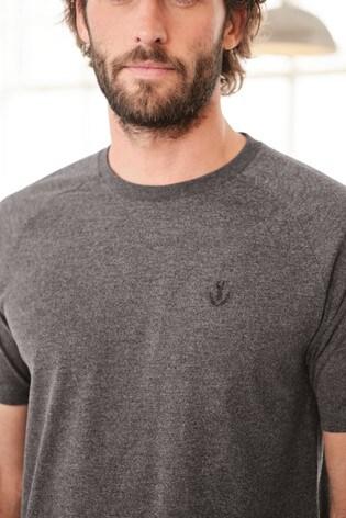 Grey/Khaki Check Woven Pyjama Set