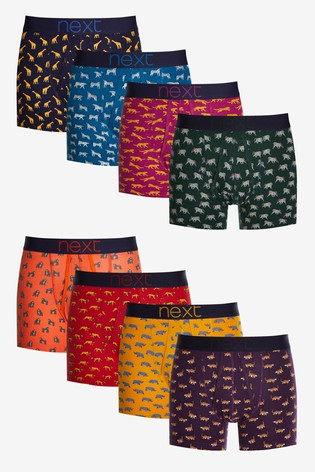Safari Animal Print A-Fronts Eight Pack
